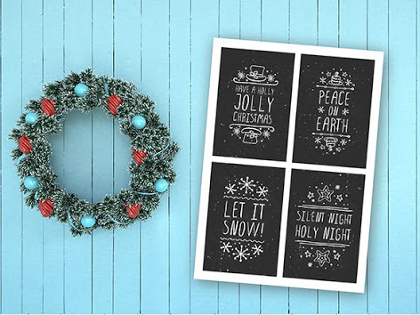 Download Merry Christmas - handdrawn elements Free