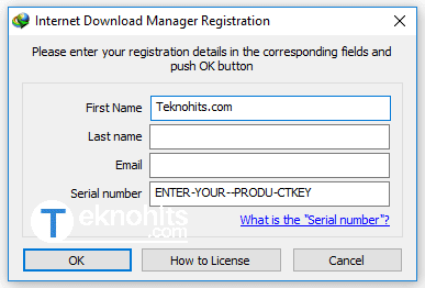 mengatasi idm counterfeit serial number