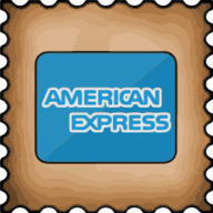 american express stamp icon