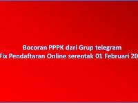 Bocoran PPPK terbaru surat Kemendikbud Beredar 09 Januari 2019