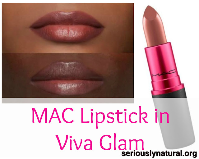 Click here to buy MAC Viva Glam Lipstick - Viva Glam VI, a lovely nude for black women