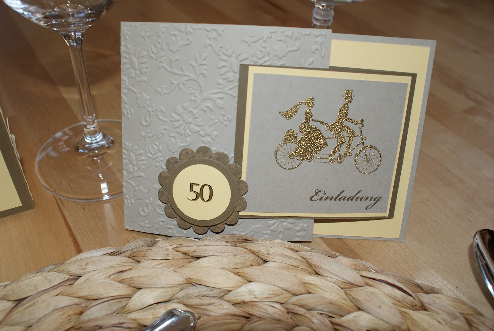 Geschenk Goldene Hochzeit Basteln Geschenk Zur Goldenen Hochzeit