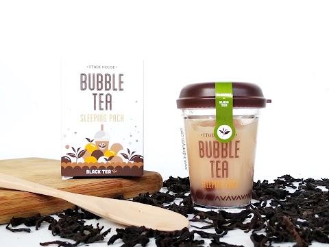 [REVIEW] Etude House : Bubble Tea Sleeping Mask - Black Tea