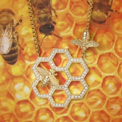 Honeycomb Pendant