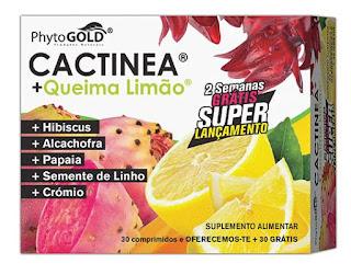 CACTINEA + Queima Limão - PhytoGold