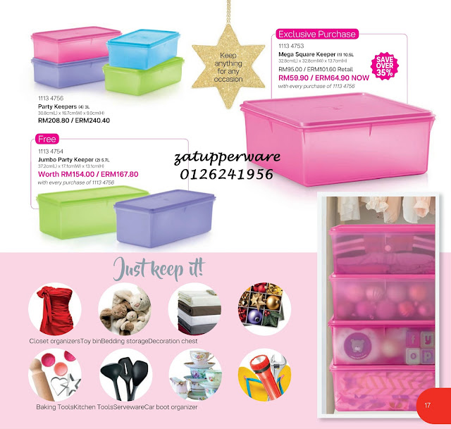 Tupperware Catalogue 13th November - 31st December 2017