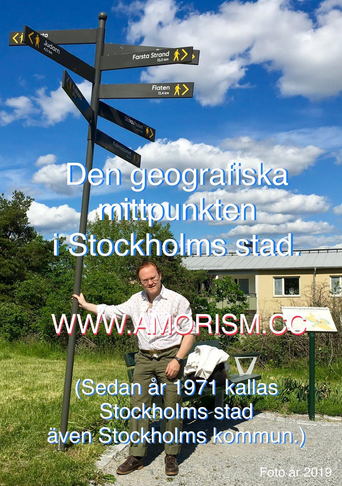 Jpg img. Stockholms geografiska mittpunkt