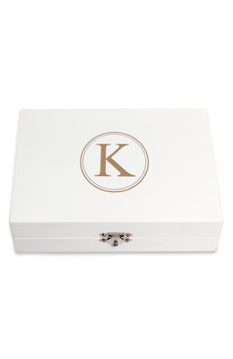 K'Mich Weddings - wedidng planning - anniversry gifts - monogram wooden jewelry box - cathy's conceptions