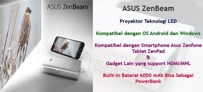 Proyektor LED Asus Zenbeam