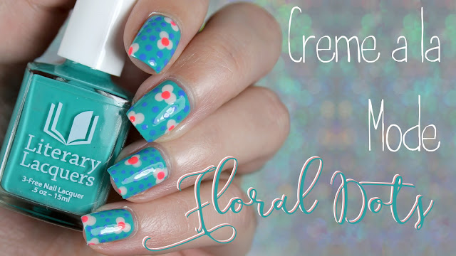 Creme a la Mode #4 Summer 2016 | Floral Dots