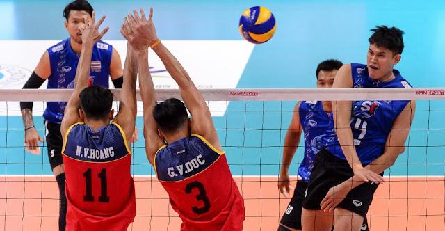 Cúp cô địch nam châu Á 2018: ĐTVN lại thua Thái Lan