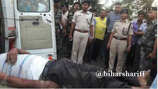 नालंदा में बस में घुस कर राजस्व कर्मचारी को मारी गोली