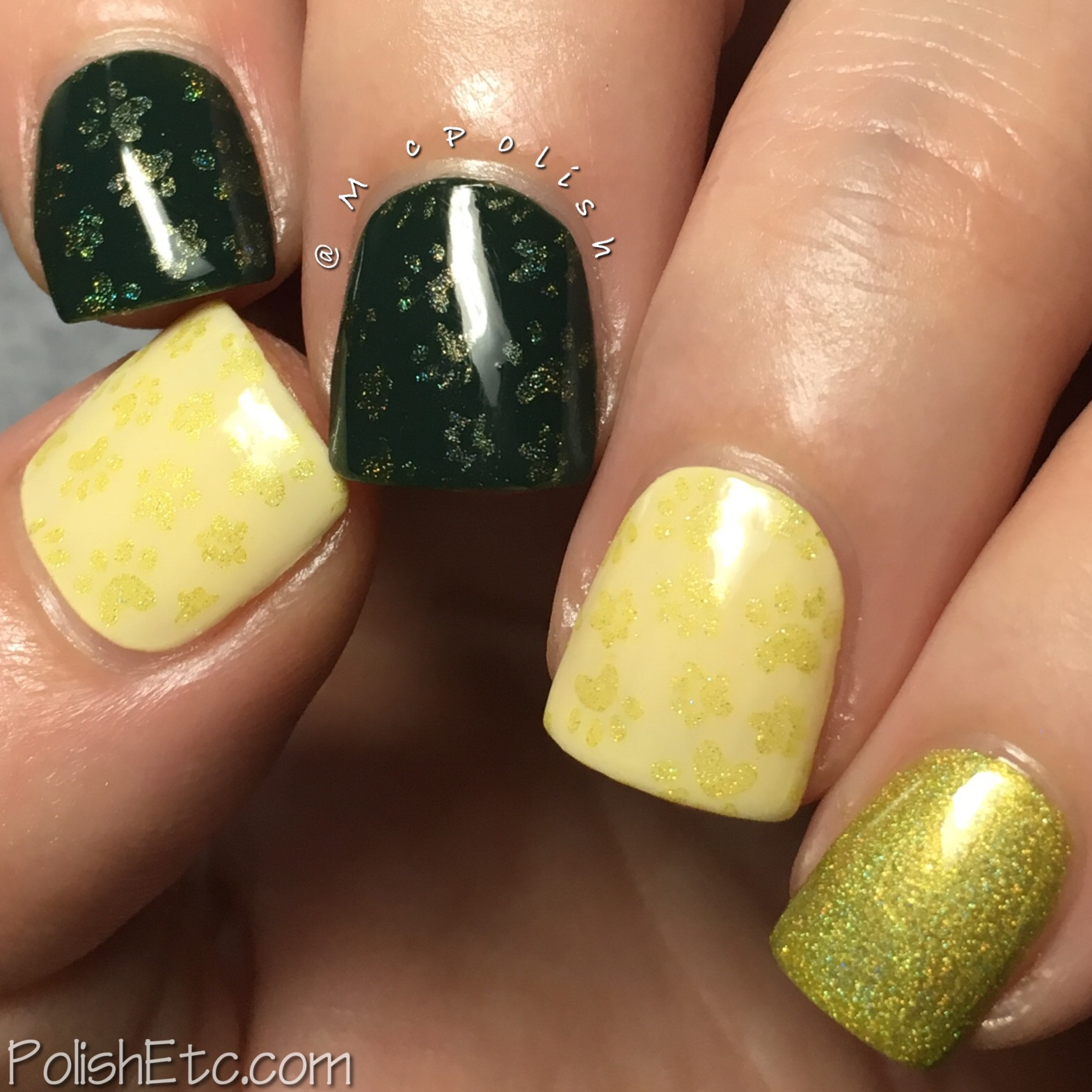 Celestial Cosmetics stamping polishes for Color4Nails - McPolish - Zinnia
