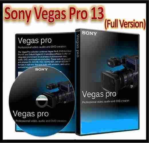 sony vegas 13 free download full version
