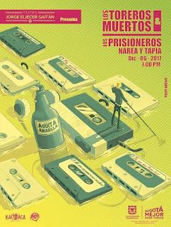 Concierto de Los Toreros Muertos y Los Prisioneros en Bogotá 2