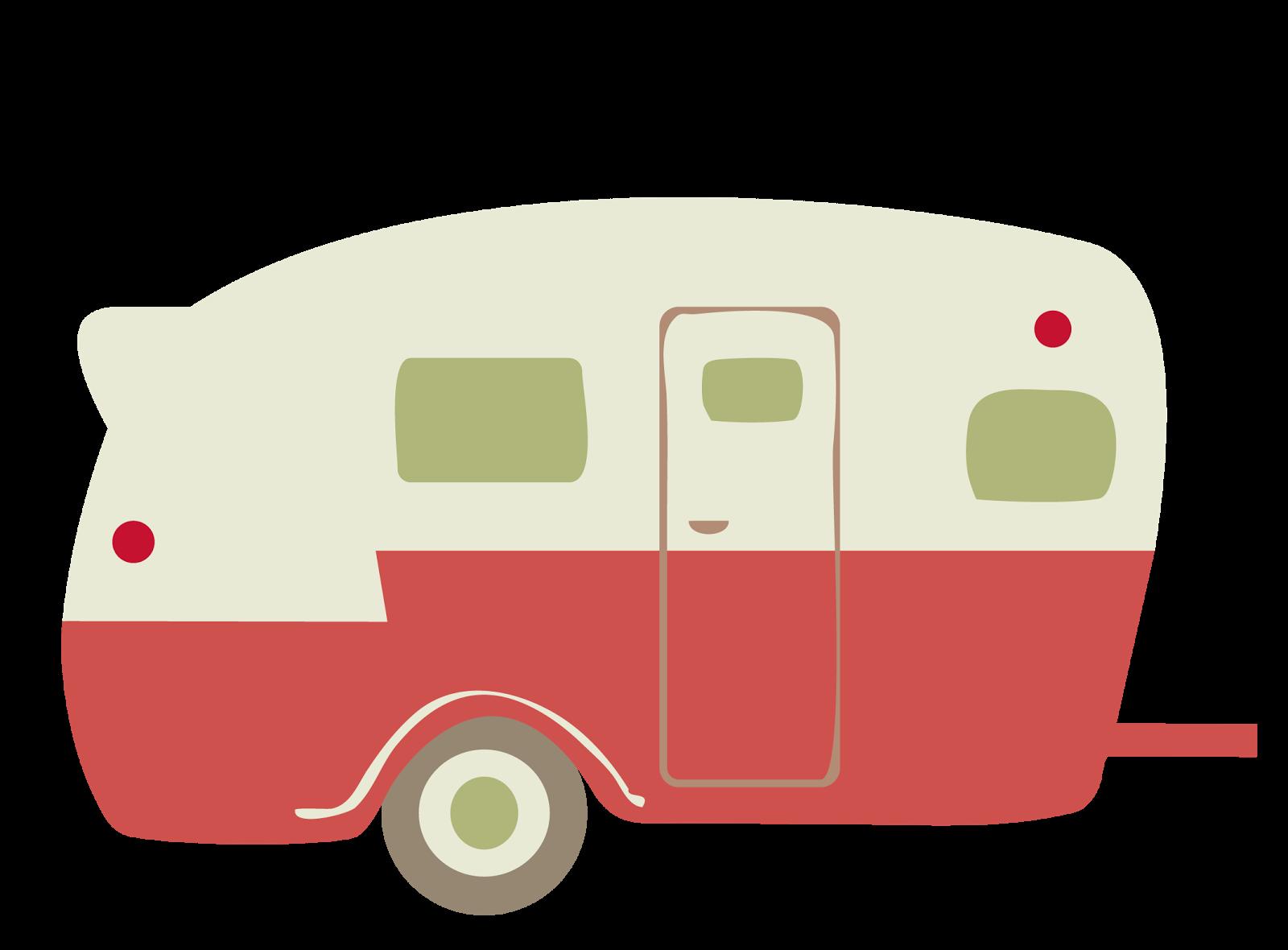 Little Red Retro Camper Elf Has Arrived