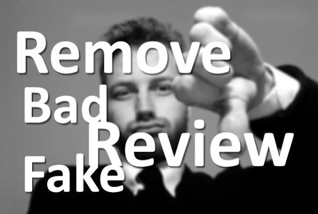 Remove bad reviews and Remove negative search results by Erum Mahfooz