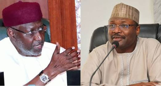 Does INEC Chairman Meet Buhari's Chief of Staff Privately Meant For Rigging The Election?