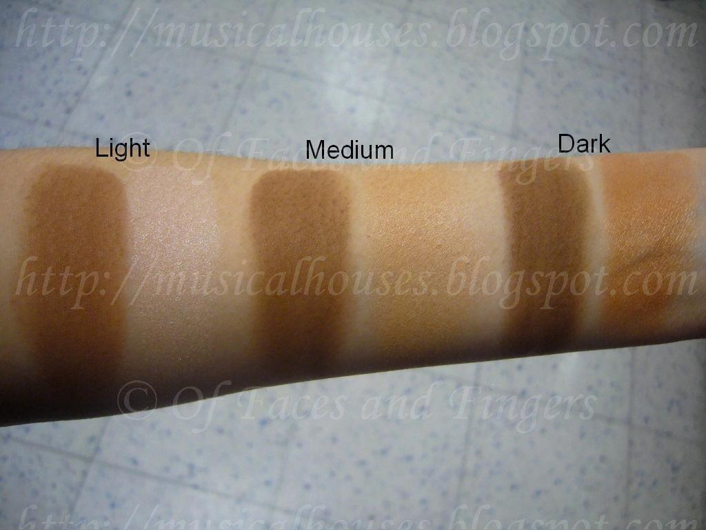 Summer Contouring: Sleek Face Contour Palette Swatches - of Faces ...