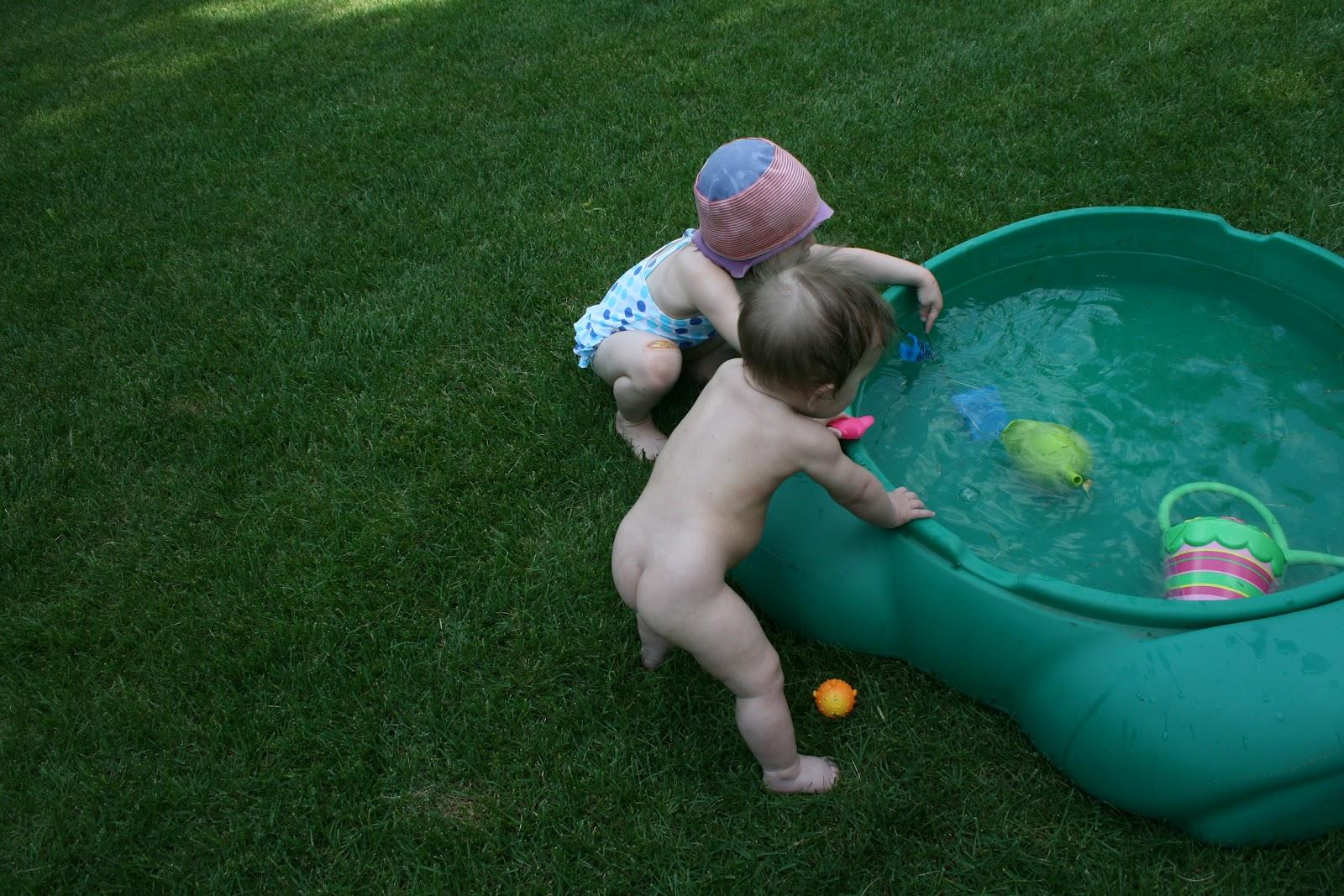 Reid... naked family on pool wanna