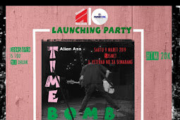 Alien Ass Lakukan Launching Party Album Bertajuk Time Bomb