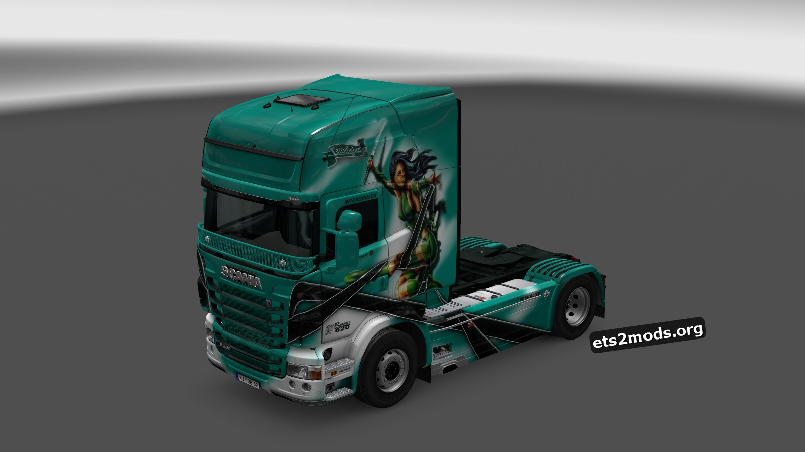 Scania RJL Greenfighter Skin