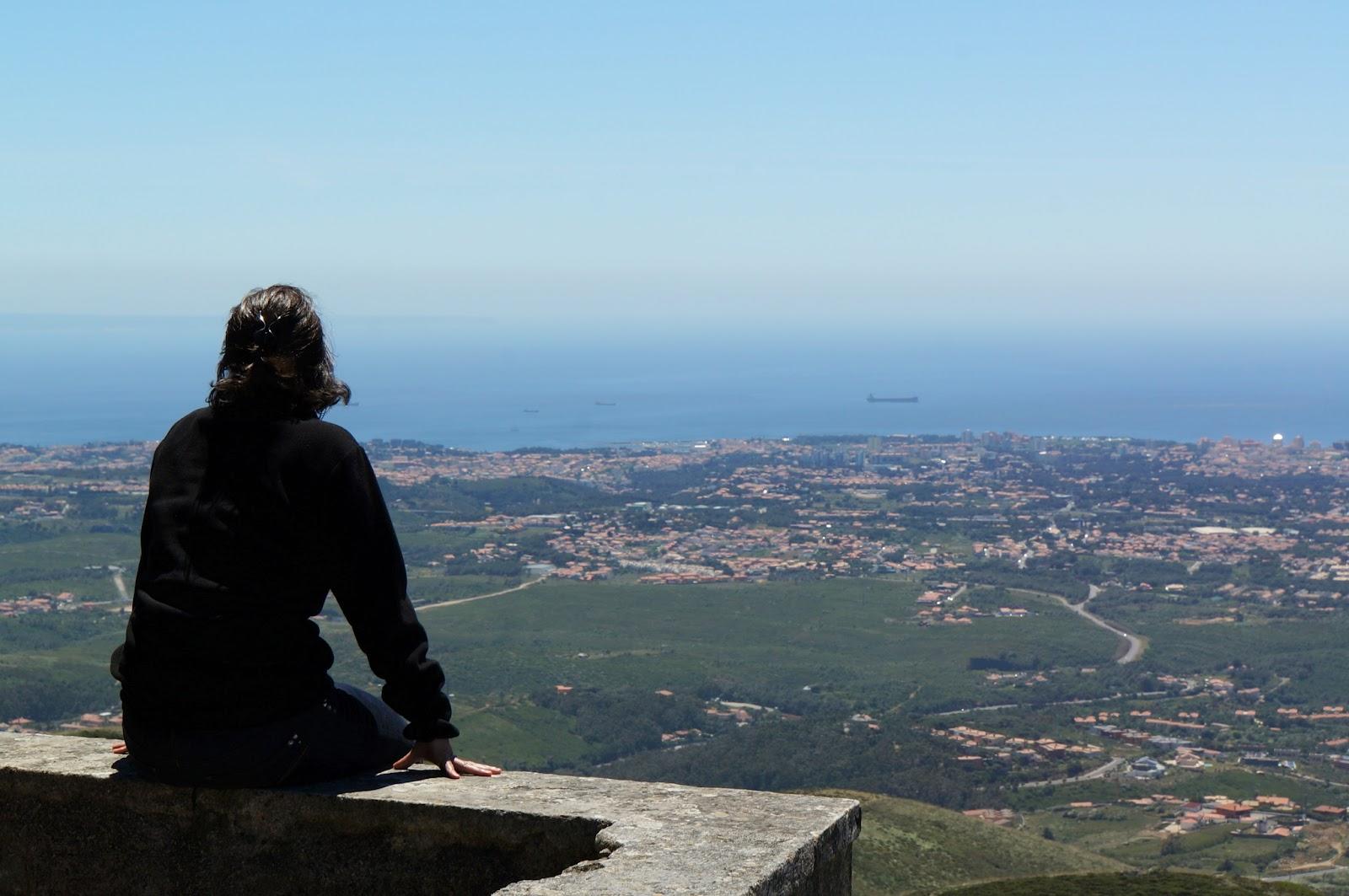 Vue du monastère de Peninha - Portugal