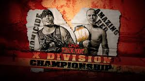 TNA Turning Point 2009 - Homicide vs. Amazing Red - X Division Title