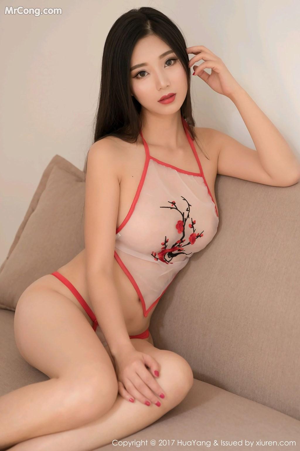 Image HuaYang-2017-11-10-Vol.015-KiKi-MrCong.com-006 in post HuaYang 2017-11-10 Vol.015: Người mẫu 宋-KiKi (45 ảnh)