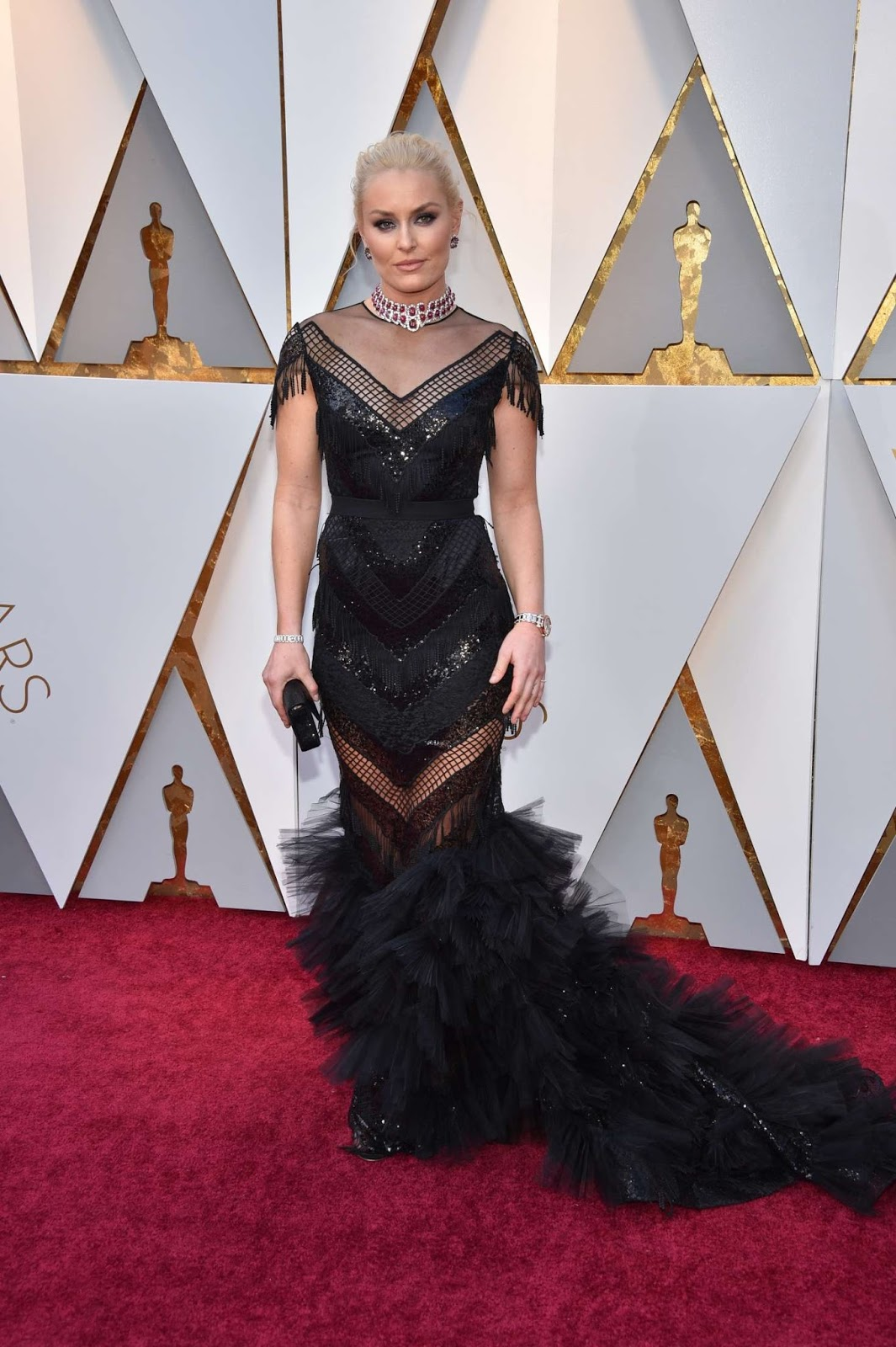Lindsey Vonn – 2018 Academy Awards in Los Angeles