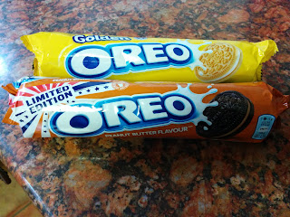 Peanut Butter and golden Oreo's