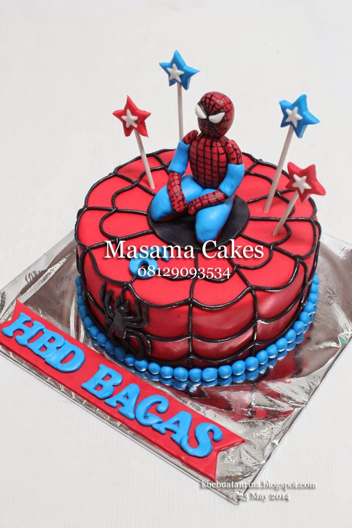 Masama Cakes Spiderman Birthday Cake For Bagas