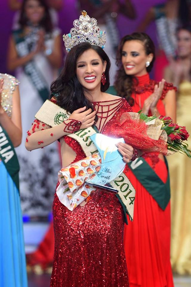 SASHES AND TIARAS..Miss Earth 2014: The Winner, The