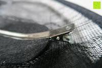 Klammer: Valdler Damen Fascinator Hut Mini-Hut Feder Ineinander greifen Netz Fasching Haarschmuck