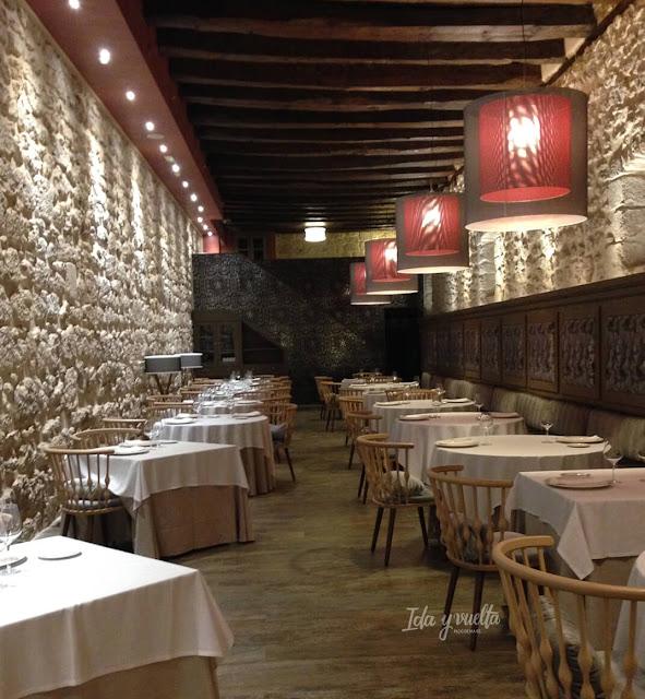 Vista del restaurante del Castilla Termal Monasterio Valbuena