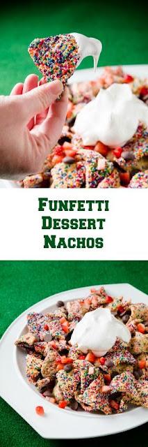 Funfetti Dessert Nachos