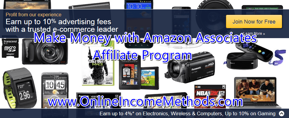Earn Money with Amazon Associates Affiliate Program