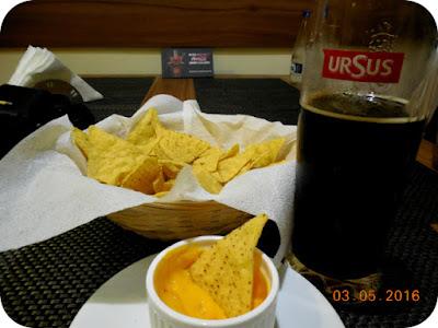 Nachos con cheddar la Fajitas Tex Mex