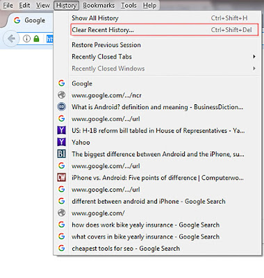 How to Clear Cache in Mozilla