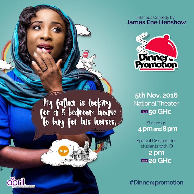 Get ready for this hilarious theatrical experience! #Dinner4promotion at National Theater