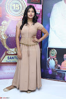 Hebah Patel in Brown Kurti and Plazzo Stuunning Pics at Santosham awards 2017 curtain raiser press meet 02.08.2017 037.JPG
