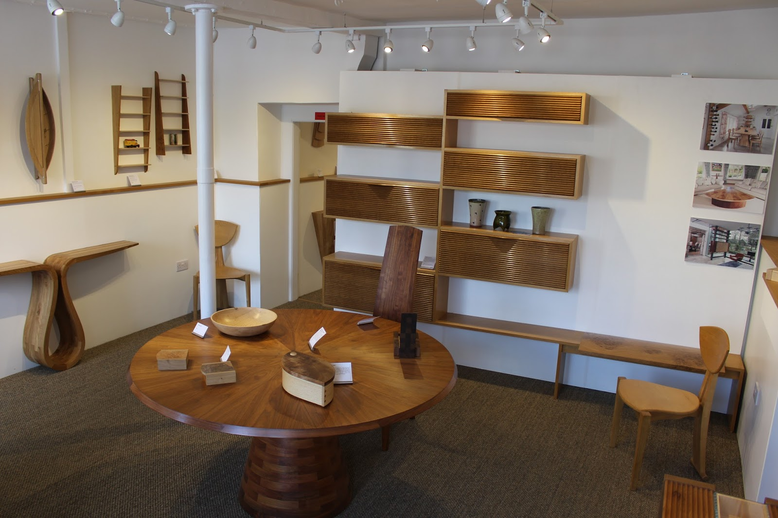 There Are Two Well Stocked Rooms With All Kinds Of Lovely Modern Pieces.  You Can See More On Their Website Http://www.matthewburt.com/#home