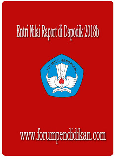 Entri Nilai Raport di Dapodik 2018b