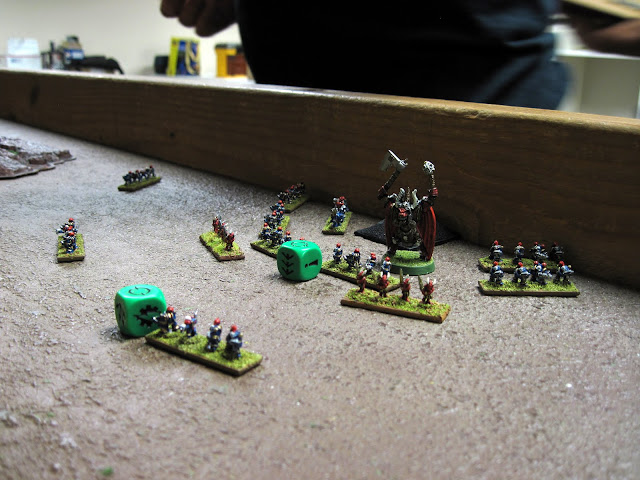 The Blood Thirster claims a Blitz.