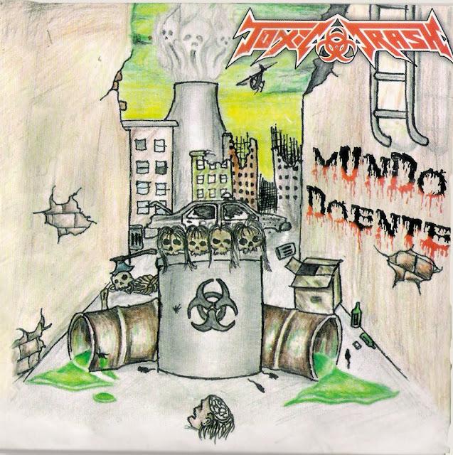 Bad metal album art