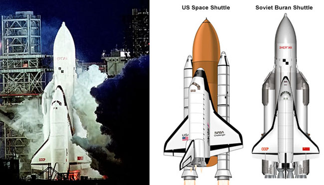 buran space shuttle compared to us - photo #7