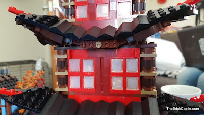 LEGO Ninjago Temple Of Airjitzu set 70751 roof build