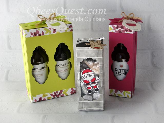 Mini Wine Bottle Amp Chimney Slider Boxes