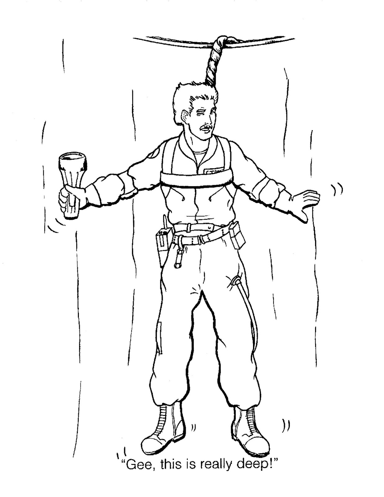 Ghostbusters 2 Coloring Book Sketch Coloring Page