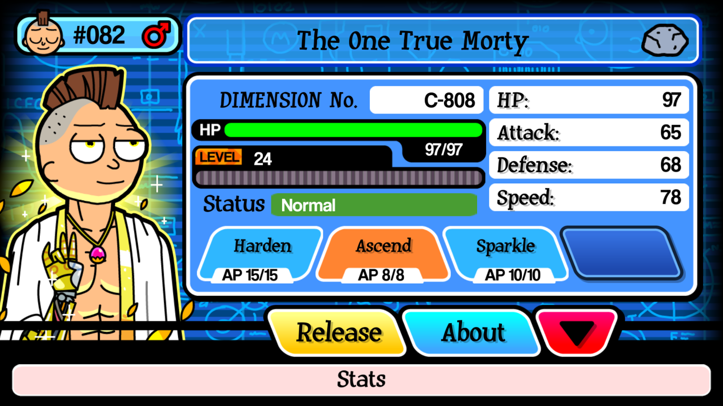 Explore The World Game Pocket Mortys Guide How To
